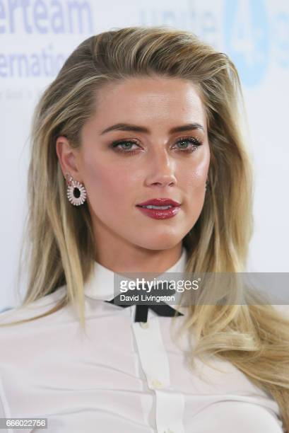Actress Amber Heard attends the 4th annual unite4humanity Gala at the Beverly Wilshire Four Seasons Hotel on April 7 2017 in Beverly Hills California