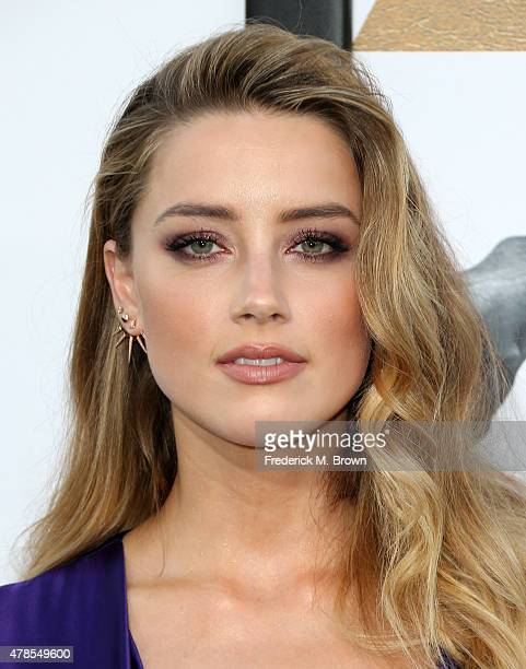 Actress Amber Heard attends the premiere of Warner Bros Pictures' 'Magic Mike XXL' at TCL Chinese Theatre IMAX on June 25 2015 in Hollywood California
