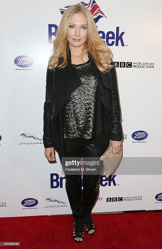 Actress Amber Kelleher-Andrews attends the launch of the Seventh Annual Britweek Festival 'A Salute to Old Hollywood' on April 23, 2013 in Los Angeles, California.