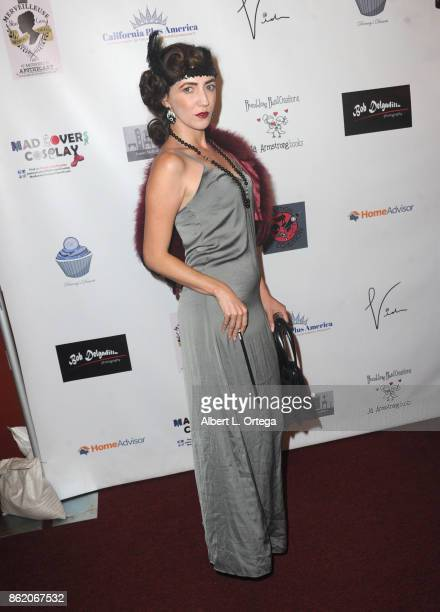 Actress Amber Martinez attends Halloween Hotness 4 Heating Up For The Cure held at American Legion Hall on October 15 2017 in Los Angeles California