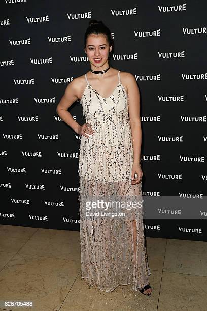 Actress Amber Midthunder arrives at the Vulture Awards Season Party at the Sunset Tower Hotel on December 8 2016 in West Hollywood California