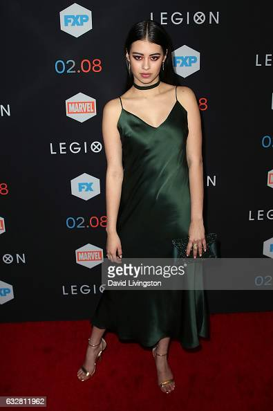 Actress Amber Midthunder attends the premiere of FX's 'Legion' at Pacific Design Center on January 26 2017 in West Hollywood California