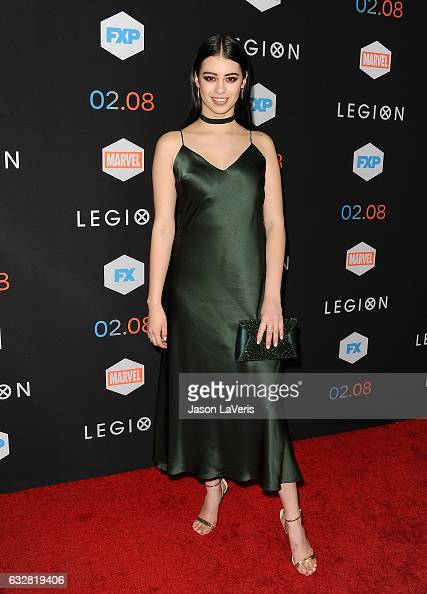 Actress Amber Midthunder attends the premiere of 'Legion' at Pacific Design Center on January 26 2017 in West Hollywood California