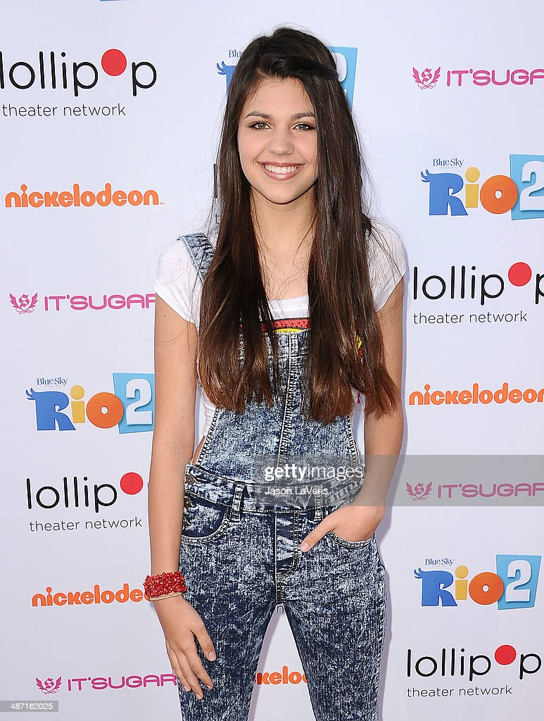 Actress Amber Montana attends the Lollipop Theater Network's A Night Under The Stars at Nickelodeon Animation Studio on April 26, 2014 in Burbank, California.