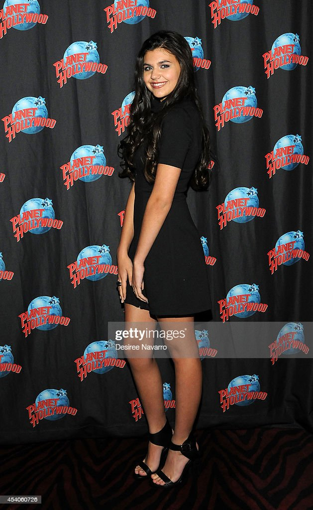 Actress Amber Montana visits Planet Hollywood Times Square on August 23, 2014 in New York City.