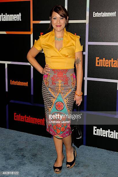 Actress Amber Nash arrives at Entertainment Weekly's Annual Comic Con Celebration at Float at Hard Rock Hotel San Diego on July 26 2014 in San Diego...