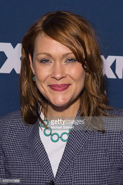 Actress Amber Nash attends the 2015 FX Bowling Party at Lucky Strike on April 22 2015 in New York City