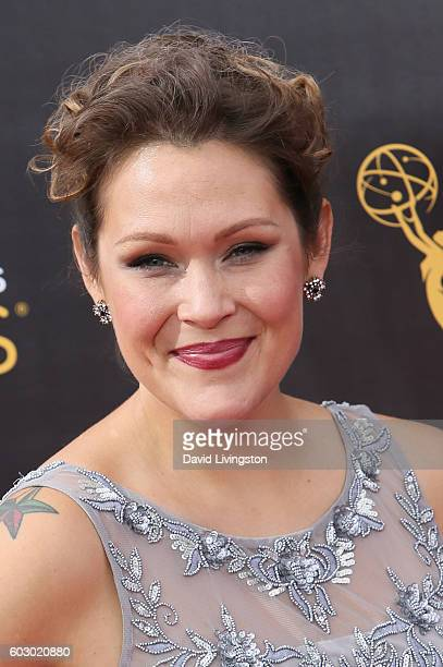 Actress Amber Nash attends the 2016 Creative Arts Emmy Awards Day 2 at the Microsoft Theater on September 11 2016 in Los Angeles California