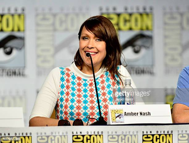 Actress Amber Nash attends the 'Archer' Screening and QA during ComicCon International 2014 at Hilton Bayfront on July 25 2014 in San Diego California