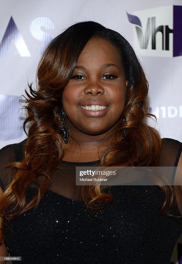 Actress <a gi-track='captionPersonalityLinkClicked' href=/galleries/search?phrase=Amber+Riley&family=editorial&specificpeople=5662111 ng-click='$event.stopPropagation()'>Amber Riley</a> attends 'VH1 Divas' 2012 at The Shrine Auditorium on December 16, 2012 in Los Angeles, California.