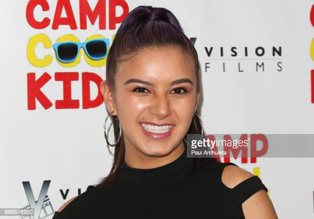 Actress Amber Romero attends the premiere of 'Camp Cool Kids' at The AMC Universal City Walk on June 21 2017 in Universal City California