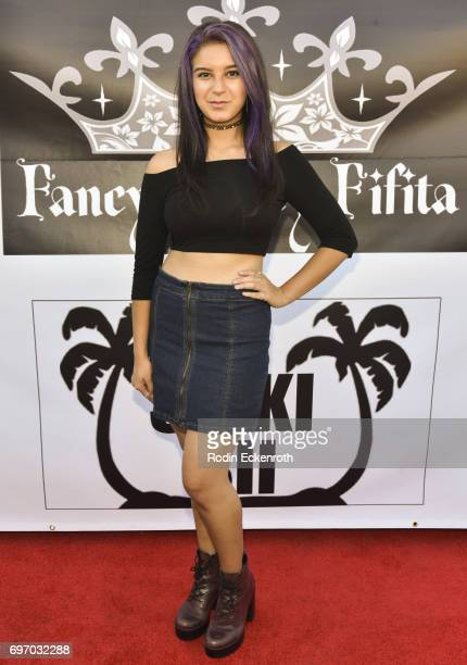 Actress Amber Romero attends the Single Release Party 'For Two' on June 16 2017 in Los Angeles California
