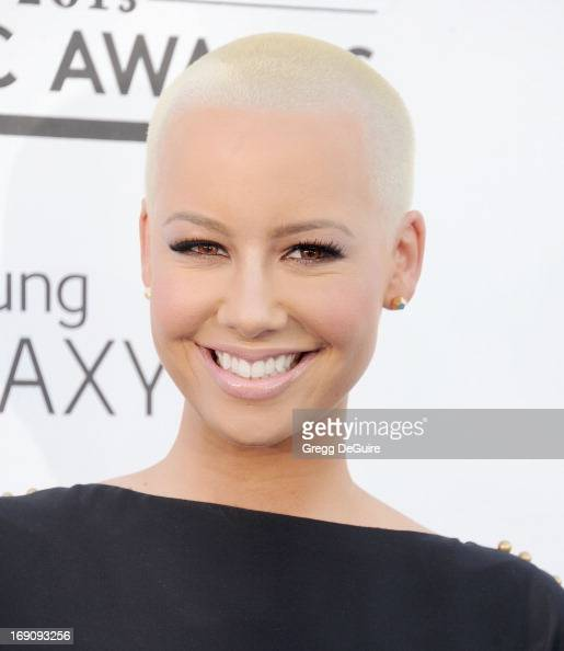 Actress Amber Rose arrives at the 2013 Billboard Music Awards at MGM Grand Garden Arena on May 19 2013 in Las Vegas Nevada