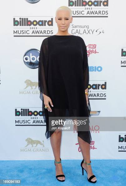 Actress Amber Rose arrives at the 2013 Billboard Music Awards at MGM Grand Hotel Casino on May 19 2013 in Las Vegas Nevada