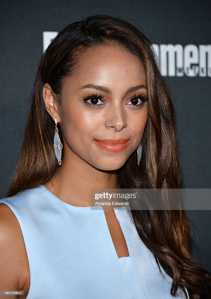 Actress Amber Stevens arrives at the 2014 Entertainment Weekly Pre-Emmy Party at Fig & Olive Melrose Place on August 23, 2014 in West Hollywood, California.