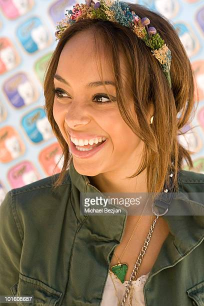 Actress Amber Stevens attends Cesar Canine Cuisine at Kari Feinstein MTV Movie Awards Style LoungeDay 1 at Montage Beverly Hills on June 3 2010 in...