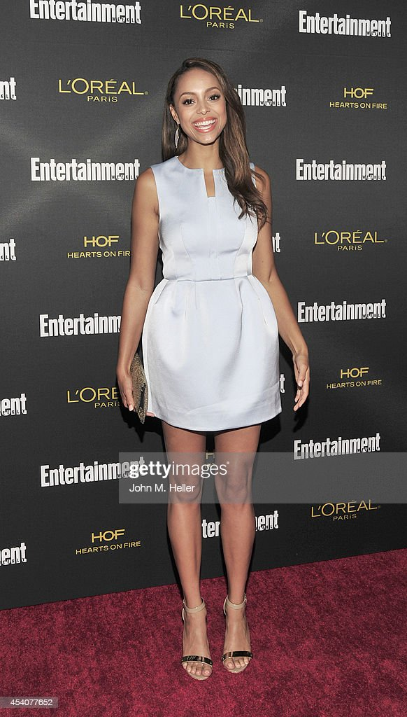 Actress Amber Stevens attends Entertainment Weekly's Pre-Emmy Party at Fig & Olive on Melrose Place on August 23, 2014 in West Hollywood, California.