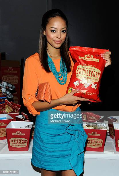 Actress Amber Stevens attends Kari Feinstein MTV Movie Awards Style Lounge at W Hollywood on June 2 2011 in Hollywood California