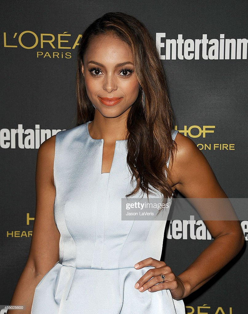 Actress <a gi-track='captionPersonalityLinkClicked' href=/galleries/search?phrase=Amber+Stevens&family=editorial&specificpeople=4152761 ng-click='$event.stopPropagation()'>Amber Stevens</a> attends the 2014 Entertainment Weekly pre-Emmy party at Fig & Olive Melrose Place on August 23, 2014 in West Hollywood, California.