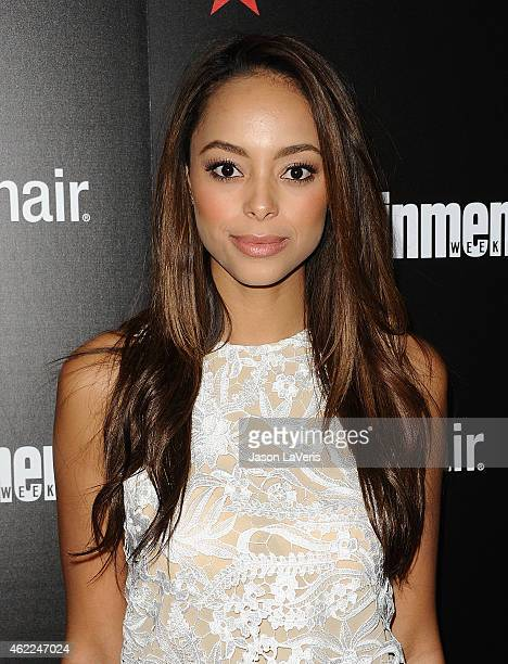 Actress Amber Stevens attends the Entertainment Weekly celebration honoring nominees for the Screen Actors Guild Awards at Chateau Marmont on January...