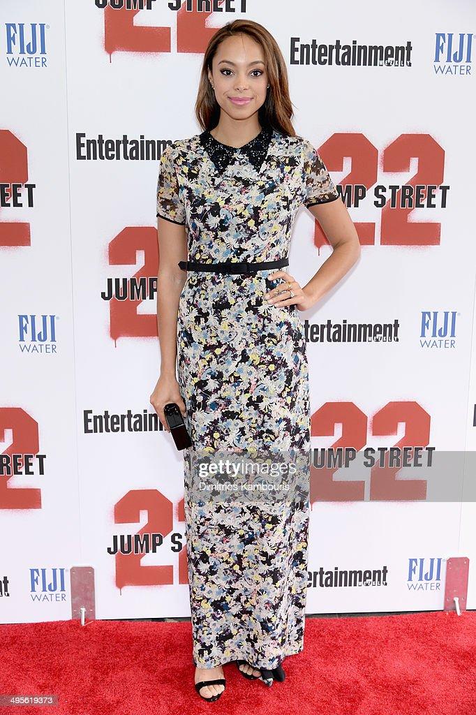 """22 Jump Street"" New York Screening - Inside Arrivals"