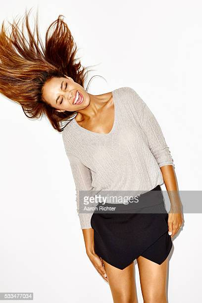 Actress Amber Stevens is photographed for Aritzia #FallForUs in 2014 in Los Angeles California PUBLISHED IMAGE