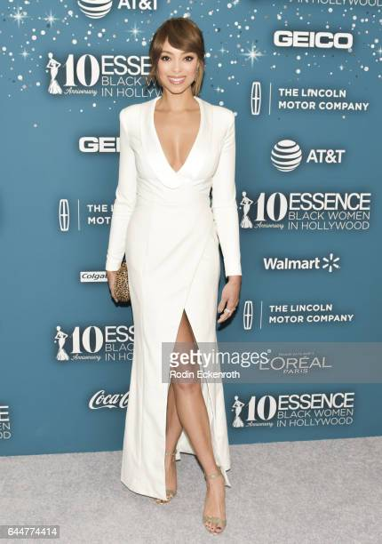 Actress Amber Stevens West attends the Essence 10th Annual Black Women in Hollywood Awards Gala at the Beverly Wilshire Four Seasons Hotel on...