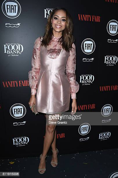 Actress Amber Stevens West attends Vanity Fair and FIAT Toast To 'Young Hollywood' at Chateau Marmont on February 23 2016 in Los Angeles California