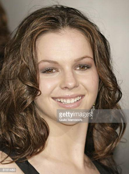 Actress Amber Tamblyn attends Rodeo Drive Walk of Style Event Honoring Tom Ford on March 28 2004 in Beverly Hills California