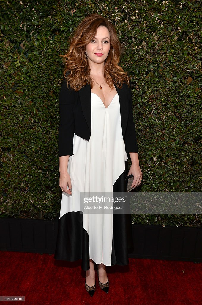 Actress <a gi-track='captionPersonalityLinkClicked' href=/galleries/search?phrase=Amber+Tamblyn&family=editorial&specificpeople=202906 ng-click='$event.stopPropagation()'>Amber Tamblyn</a> attends the 2014 Writers Guild Awards L.A. Ceremony at J.W. Marriott at L.A. Live on February 1, 2014 in Los Angeles, California.