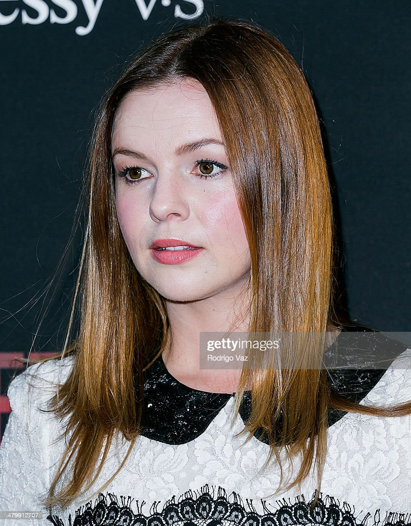 Actress <a gi-track='captionPersonalityLinkClicked' href=/galleries/search?phrase=Amber+Tamblyn&family=editorial&specificpeople=202906 ng-click='$event.stopPropagation()'>Amber Tamblyn</a> attends the 'Cesar Chavez' Los Angeles Premiere at TCL Chinese Theatre on March 20, 2014 in Hollywood, California.