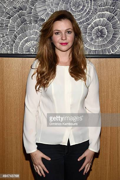 Actress Amber Tamblyn attends Through Her Lens The Tribeca Chanel Women's Filmmaker closing night at The Smyth Hotel on October 28 2015 in New York...