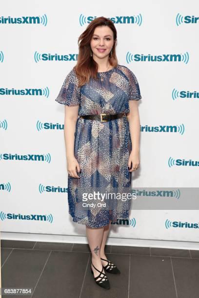 Actress Amber Tamblyn visits the SiriusXM Studios on May 16 2017 in New York City