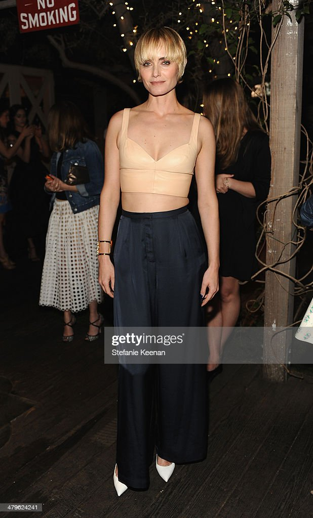 Actress Amber Valetta attends H&M Conscious Exclusive Dinner at Eveleigh on March 19, 2014 in West Hollywood, California.