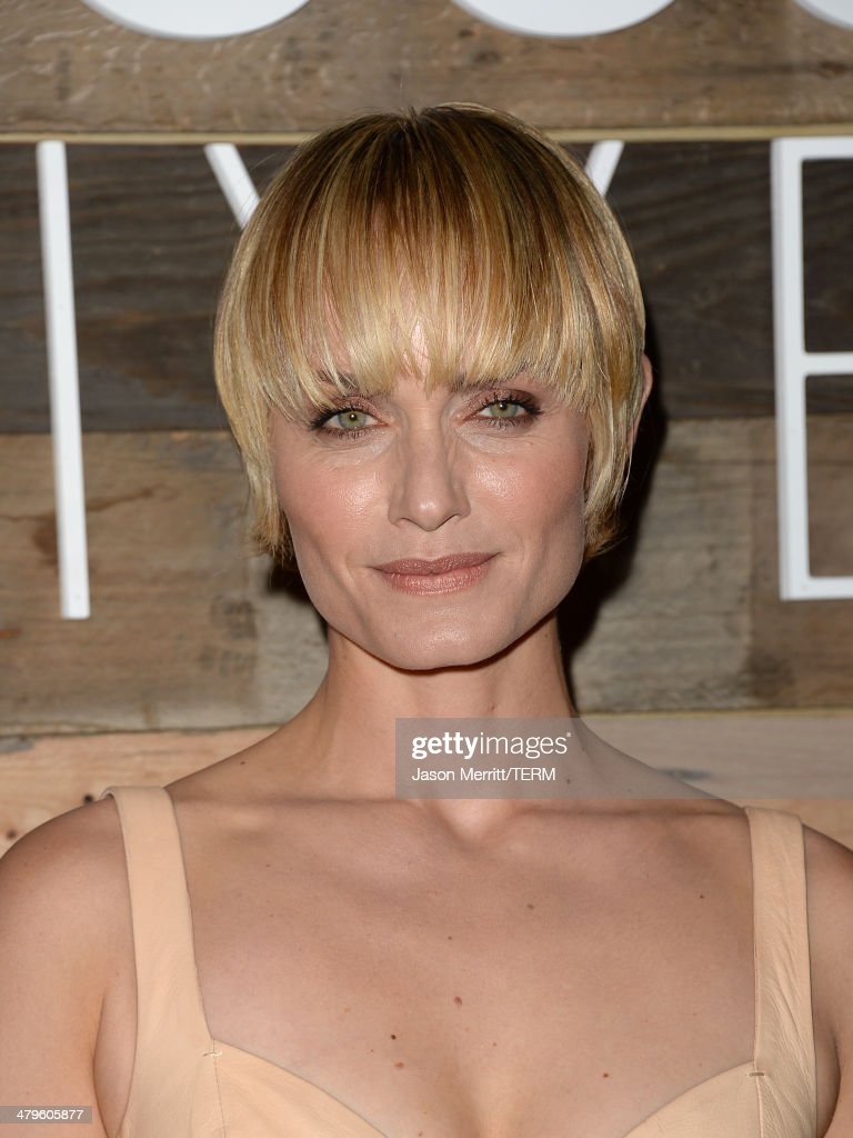Actress Amber Valetta attends the H&M Conscious Collection dinner at Eveleigh on March 19, 2014 in West Hollywood, California.