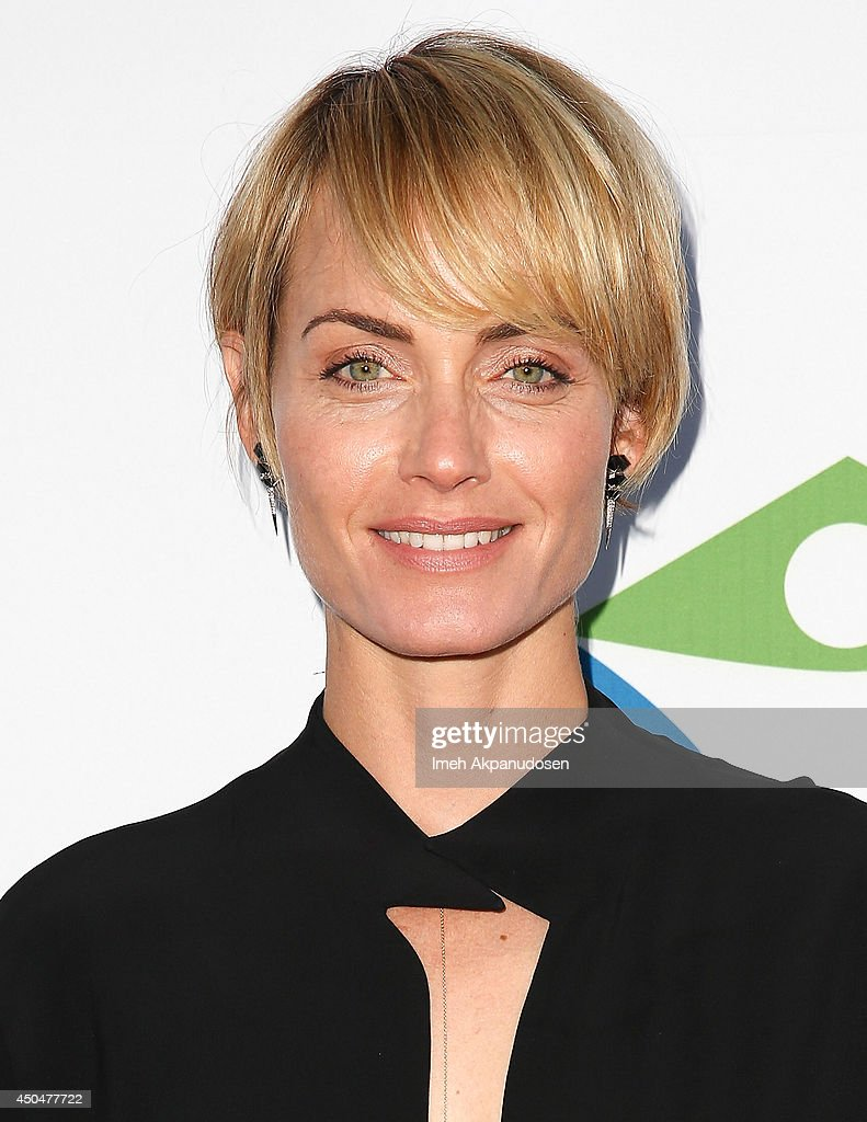 Actress Amber Valetta attends the Pathway To The Cures For Breast Cancer fundraiser benefiting Susan G. Komen presented by Relativity Media and Pathway Genomics at Santa Monica Airport on June 11, 2014 in Santa Monica, California.