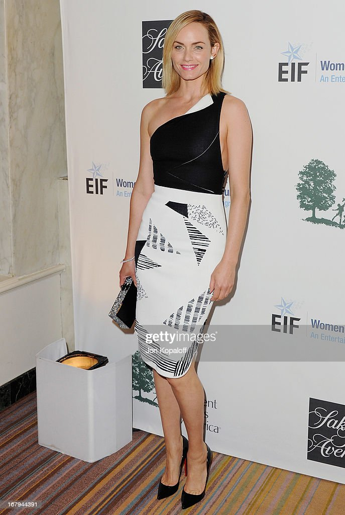 Actress Amber Valletta arrives at An Unforgettable Evening benefiting EIF's Women's Cancer Research Fund at the Beverly Wilshire Four Seasons Hotel on May 2, 2013 in Beverly Hills, California.