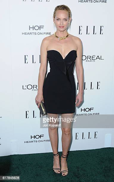 Actress Amber Valletta arrives at the 23rd Annual ELLE Women In Hollywood Awards at Four Seasons Hotel Los Angeles at Beverly Hills on October 24...