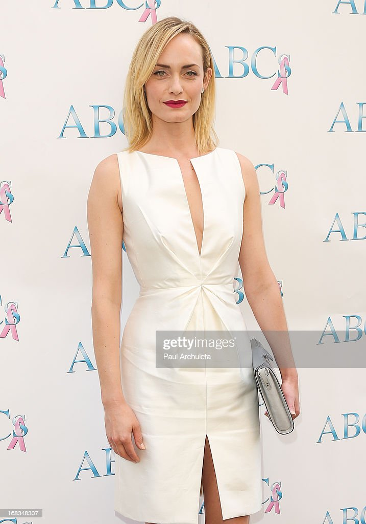 Actress Amber Valletta attends ABC's Mother's Day luncheon at the Four Seasons Hotel Los Angeles at Beverly Hills on May 8, 2013 in Beverly Hills, California.