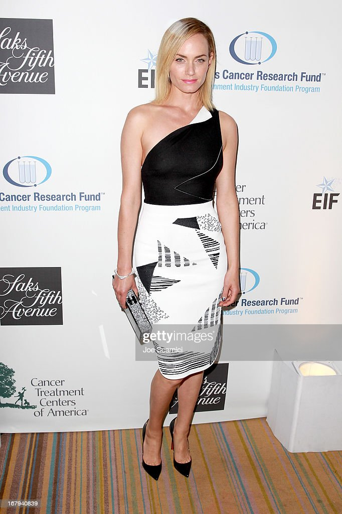 "Actress Amber Valletta attends EIF Women's Cancer Research Fund's 16th Annual ""An Unforgettable Evening"" presented by Saks Fifth Avenue at the Beverly Wilshire Four Seasons Hotel on May 2, 2013 in Beverly Hills, California."