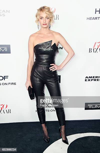 Actress Amber Valletta attends Harper's Bazaar Celebrates 150 Most Fashionable Women at Sunset Tower Hotel on January 27 2017 in West Hollywood...