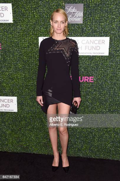Actress Amber Valletta attends WCRF's 'An Unforgettable Evening' presented by Saks Fifth Avenue at the Beverly Wilshire Four Seasons Hotel on...