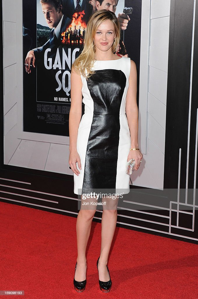 Actress Ambyr Childers arrives at the Los Angeles Premiere 'Gangster Squad' at Grauman's Chinese Theatre on January 7, 2013 in Hollywood, California.