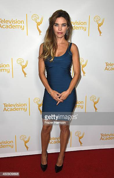 Actress Amelia Heinle attends Television Academy's Daytime Programming Peer Group's 41st Annual Daytime Emmy Nominees Celebration at The London West...