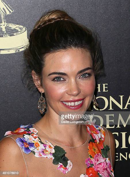Actress Amelia Heinle attends the 41st Annual Daytime Emmy Awards at The Beverly Hilton Hotel on June 22 2014 in Beverly Hills California