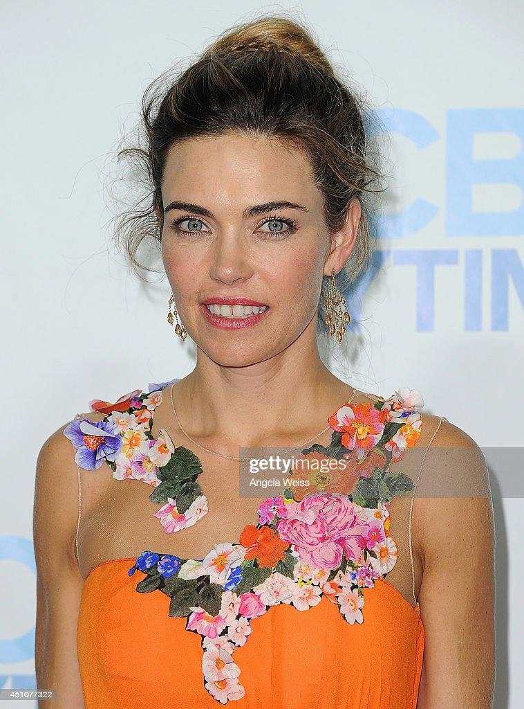 Actress <a gi-track='captionPersonalityLinkClicked' href=/galleries/search?phrase=Amelia+Heinle&family=editorial&specificpeople=3276082 ng-click='$event.stopPropagation()'>Amelia Heinle</a> attends the 41st Annual Daytime Emmy Awards CBS after party at The Beverly Hilton Hotel on June 22, 2014 in Beverly Hills, California.