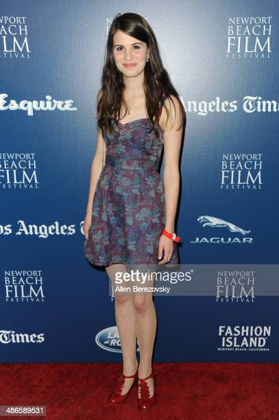 Actress Amelia Rose Blaire attends a special screening of 'LOVESICK' during 2014 Newport Beach Film Festival at Big Newport Theater on April 24 2014...