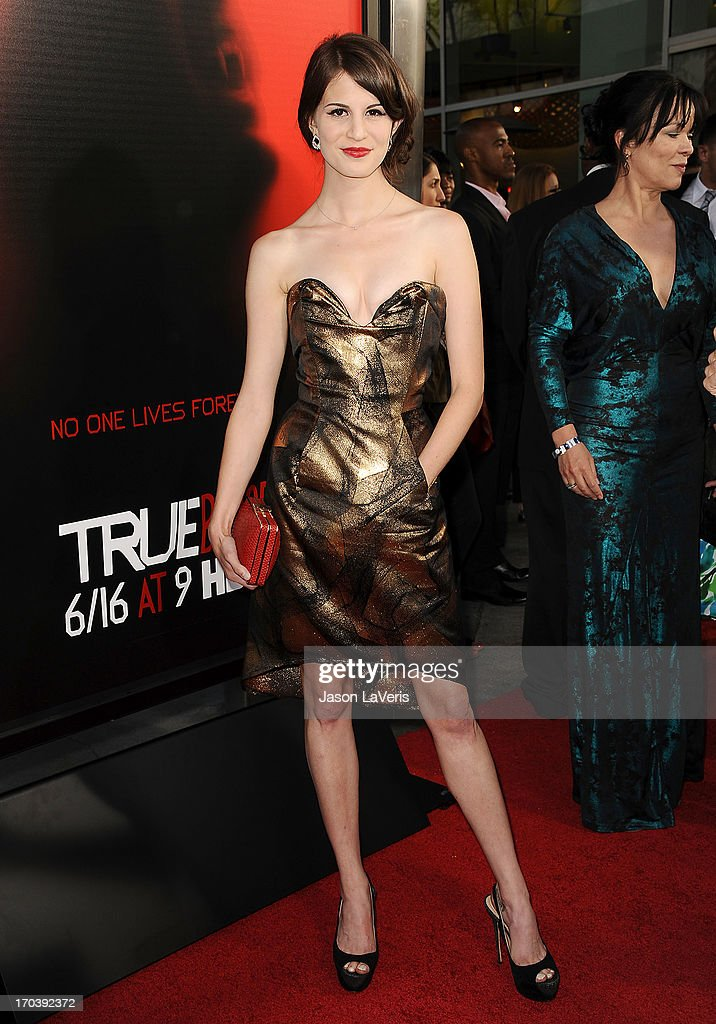 Actress Amelia Rose Blaire attends the season 6 premiere of HBO's 'True Blood' at ArcLight Cinemas Cinerama Dome on June 11, 2013 in Hollywood, California.