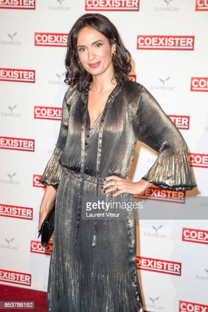Actress Amelle Chahbi attends 'Coexister' Paris Premiere at Le Grand Rex on September 25 2017 in Paris France
