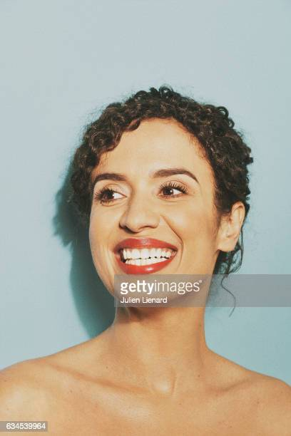 Actress Amelle Chahbi is photographed for Grand Seigneur on December 5 2016 in Paris France